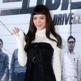 《Drive Club》发布会:Lizzy锅盖浏海形似可爱人偶娃娃