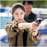 《日与夜》甜美雪炫成帅气搜女警!与南宫民搭配令人期待
