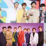 【男團品牌評價】BTS防彈少年團品牌指數創新高!前三名組成不變