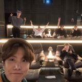 BTS防弹少年团集体认证观看电影《BRING THE SOUL:THE MOVIE》