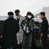 【机场直击】CIX於上午从仁川出发到青岛举办签售会