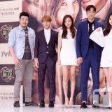 河锡辰、尹邵熙、Yura、李旼赫等人出席《演戏结束之后》制作发布会