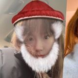 太妍誤將「鰲拜」濾鏡當做聖誕老公公?! 呆萌眼神令人哭笑不得