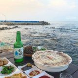 在这样的风景旁边吃饭的话...真的人生一大乐事:最新鲜道地的海鲜大餐