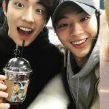 Jisoo為南柱赫驚喜送上咖啡車應援!展現溫暖的友情!