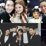 艺人们公开的tvN Awards认证照 再度聚首的组合令人怀念