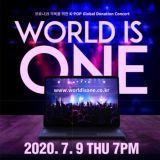 MBC將於7月9日舉行慈善線上演唱會《World is ONE》:SJ、MAMAMOO、N.Flying等14組歌手出演