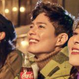 朴宝剑&Red Velvet Seulgi被选为可口可乐2020新年活动代言人