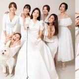 最幸福的模樣!Rainbow的智淑與成員們一起拍婚紗照,超美畫面讓粉絲感動不已!