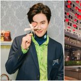 EXO SUHO香港出席活动 果然是什么颜色也Hold得住