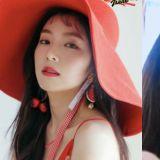 Red Velvet Irene新发型再一次证明了逆天等级的颜值♥ 空气刘海又要翻红了~