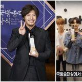 看过这样粗旷的姜河那吗?第47届韩国放送大赏《山茶花开时》勇夺三冠王,BTS与Pengsoo也获奖