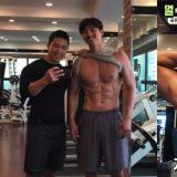 大發!孔劉教練公開孔劉的肌肉現狀,真正「穿衣顯瘦,脫衣有肉」