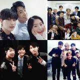 東方神起、SJ、EXO-CBX齊打歌!希澈、圭賢、Red Velvet和NCT來探班