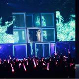 在演唱會的「粉紅燈海」上更璀璨奪目的歌姫【太妍】