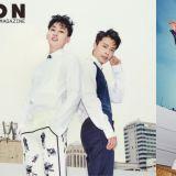 SJ- D&E 银赫&东海退伍后首次画报公开!展现更加成熟的样貌!