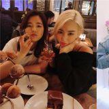 少女时代Tiffany、Sunny在LA见面!「像时光机一样的朋友」、「能和你一起变老真好」