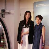 蔡舒辰旋风式访港与导演洪智暎宣传电影《你还会在吗》