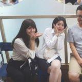 《釜山行》剧组重聚 导演和3大美女同框表情很羞涩