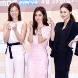 《浪漫的一周3》發佈會:朴詩妍韓彩雅同台比美