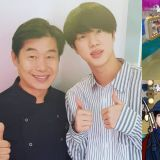 李连福厨师分享与BTS防弹少年团Jin的友谊:「Jin去海外公演的话,还会带红酒回来送给我...也一起去钓过鱼」
