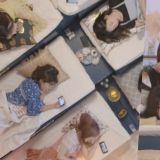 心太大~少女時代玩「躺播」這位成員貌似真的睡著了呢!