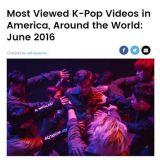 SM獨霸全球K-POP MV播放量半壁江山 EXO&太妍&Tiffany上榜
