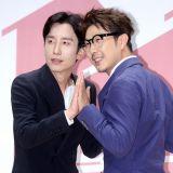 柳熙烈&哈哈出席新綜藝《像說的那樣》發佈會