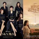 《Sky Castle》連兩週奪電視劇話題性一位!《阿爾罕布拉宮的回憶》、《皇后的品格》位居二、三位!