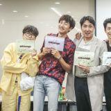 tvN新劇《Entourage Korea》星光閃閃讀本現場公開