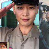 到哪裡都讓人驕傲!SHINee珉豪參加海軍陸戰隊結業式,在1100名的訓練生中獲得第三名!