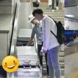 首爾站終於有行李輸送帶了! 再也不用提著大包小包去轉乘啦~