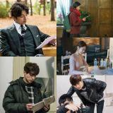 tvN新劇《鬼怪》公開主演孔劉、李棟旭、金高恩、劉仁娜、陸星材現場拍攝照