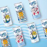 《KAKAO X MILKIS牛奶苏打汽水》联名夏季海洋风周边