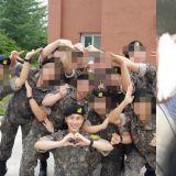 這個很BTOB!21日正式入伍 恩光軍中近況照公開 與同袍們「花式比心」