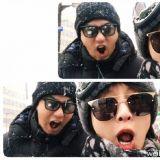 又一韓中情侶誕生了!朱鎮模♥張儷同遊日本親昵自拍