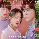 金宇硕&韩成敏主演青春网剧《Twenty-Twenty》今晚将在JTBC电视台播出!