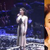 IU 演唱會上唱中文歌《孤獨的總和》超標準,歌詞唱到「真理」讓人想哭