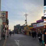 疫情下的韩国变成什么样了?带你看看今日弘大商圈的面貌