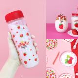 草莓控必買!韓國大創推出一系列草莓商品,文具、生活用品要什麼都有!