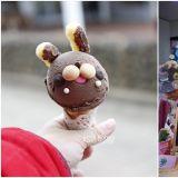 濟州島打卡熱點    最可愛的兔子冰淇淋+章魚雞蛋糕