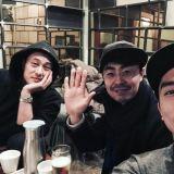 宋承憲&蘇志燮男神集合 自體發光秀合照