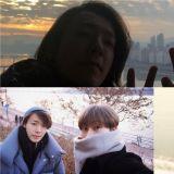 今年(2019年)第一天也一起看日出!Super Junior東海、銀赫迎來34歲了