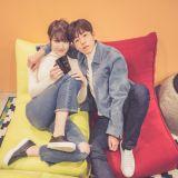 tvN新剧《她爱上了我的谎》公开李玹雨、洪书英情侣自拍剧照