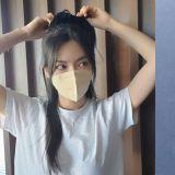 金素妍只是摘口罩而已!美到270万人来观看XD