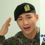 BIGBANG大聲在軍中也發揮搞笑本能,隔空呼喊勝利:「我在的時候,趕緊進來!」