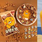 「Kakao Friends」又有合作的新食品啦!这次是超可爱的Ryan饼干和牛奶!