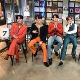 BTS防弹少年团新舞台:《Dynamite》、《Save Me》、《春日》的Live Band版!真的是全员吃CD啊