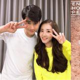 Dara與「泰國男神」馬力歐合照!這次見面是又要一起拍攝新廣告了嘛~?