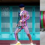 劉在錫的彩虹西裝太時髦了!韓網民:這和我家枕頭一模一樣啊XD